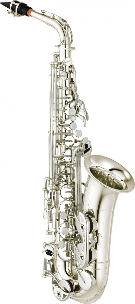 YAMAHA saksofon altowy YAS-280S posrebrzany, z futerałem