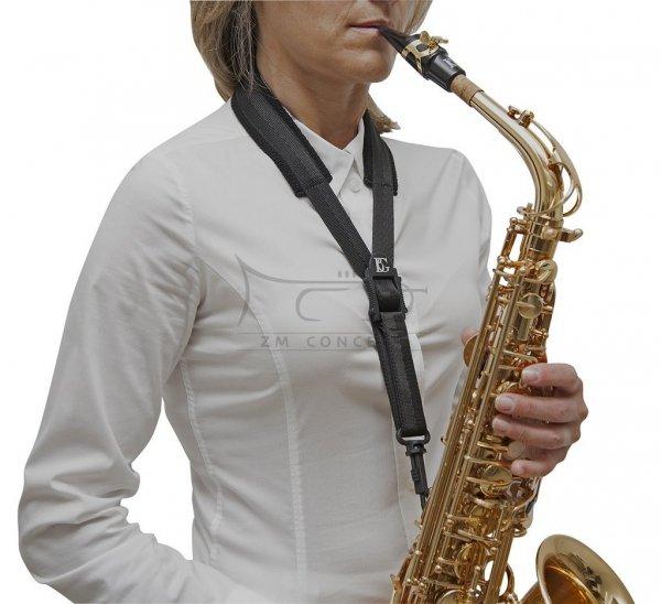 BG S10SH pasek miękki do  saksofonu altowego / tenorowego plastik karabińczyk COMFORT