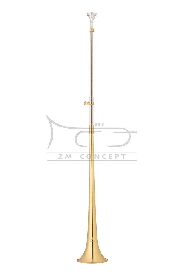 JOHN PACKER Post Horn Ab JP902 Lacquer, lakierowany, Róg pocztowy