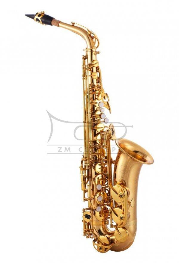 JOHN PACKER saksofon altowy Es JP245 Lacquer, lakierowany, z futerałem