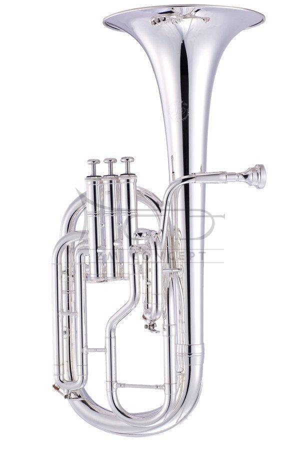 JOHN PACKER Sakshorn altowy Es JP072S Silverplated, posrebrzany, z futerałem