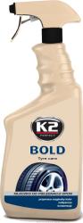K2 K157 Preparat do nabłyszczania opon 700ml atomizer
