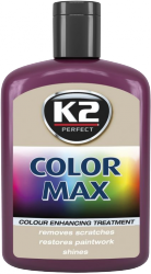 K2 K020 Wosk koloryzujący 200ml 00008 bordowy