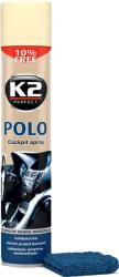 K2 POLO COCKPIT WANILIA + MIKROFIBRA 750ml do kokpitu