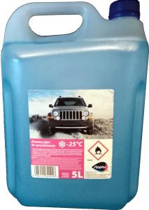 Płyn do spryskiwaczy zimowy WZMOCNIONY do -25   5L