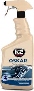 K2 OSKAR Prep.do czyszcz.plastików wewnetrznych 770ml