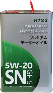 OEM Toyota Lexus 6722 5W20 MANNOL FANFARO 4L