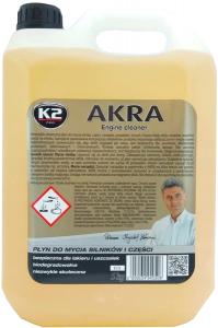 K2 K175 AKRA Skuteczny płyn do mycia silników 5L