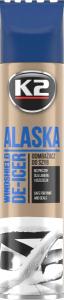 K2 ALASKA 300ml Odmrażacz do szyb ze skrobaczką spray