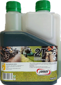 JASOL 2T Stroke OIL Semisynthetic TC 0,5L DOZOWNIK zielony
