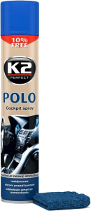 K2 POLO COCKPIT LAWENDA + MIKROFIBRA 750ml do kokpitu