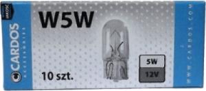 CARDOS Żarówka W 5W 12V