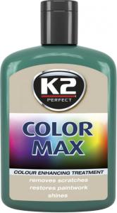 K2 K020 Wosk koloryzujący 200ml 00012 ciemnozielony