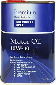 OEM GM OPEL CHEVROLET 6720 10W40 MANNOL FANFARO 1L