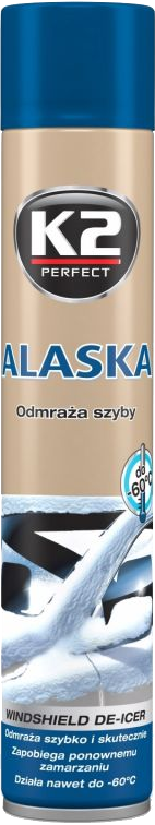K2 K608 Odmrażacz do szyb spray 750ml