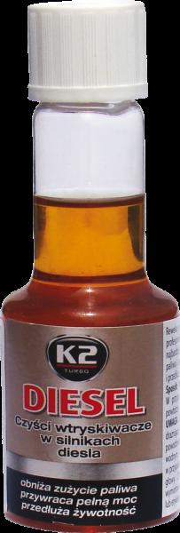 K2 T312 Do czyszczenia wtrysków w siln.diesla 50ml