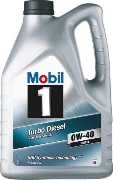 MOBIL 1 Turbo Diesel 5L 0W-40