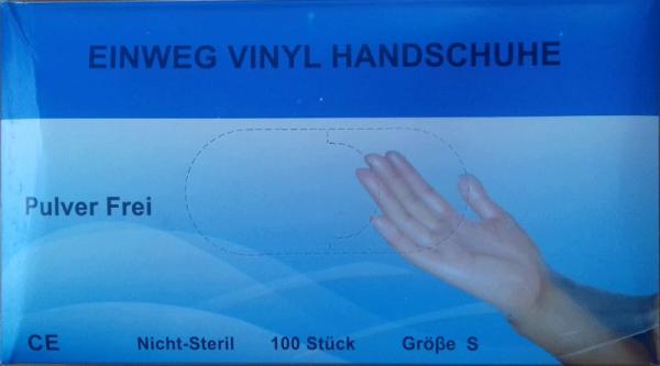 Rękawiczki nitrylowe jednorazowe 100szt rozmiar S