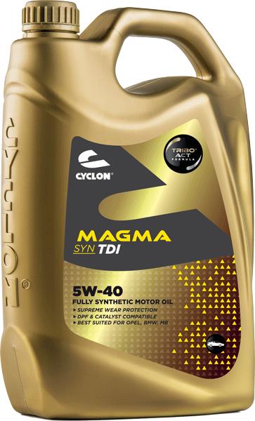 CYCLON MAGMA SYN TDI 5W-40 4L