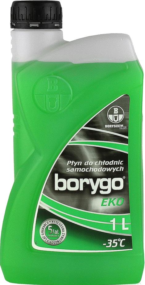 Płyn do chłodnic na glikolu propylenowym do -35stC BORYGO EKO 1L