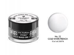 VICTORIA VYNN Żel budujący No. 12 15ml COLD WHITE FRENCH Build Gel