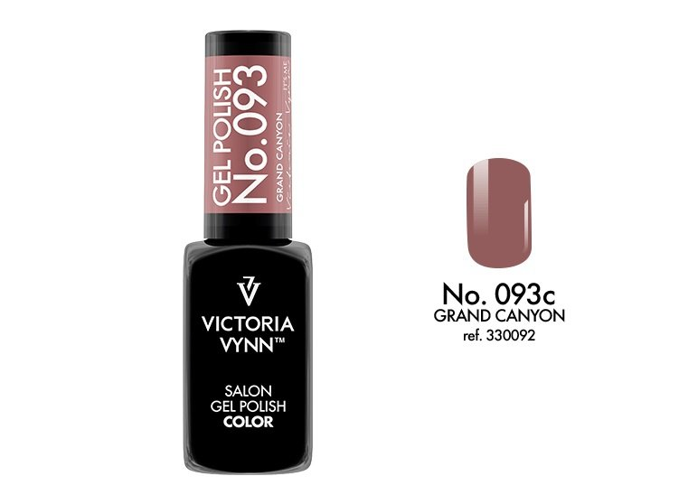 Victoria Vynn Lakier hybrydowy 093c 8ml GRAND CANYON Gel Polish COLOR Victoria Vynn
