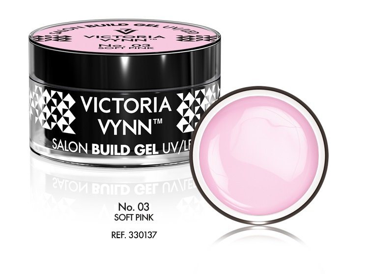 Victoria Vynn Żel budujący No. 03 50ml SOFT PINK Build Gel