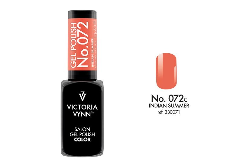 Victoria Vynn Lakier hybrydowy 072c 8ml INDIAN SUMMER Gel Polish COLOR Victoria Vynn