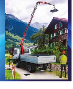 Zuraw  Maxilift bez ramy podporowej JIB  510L.4J 2S H 24V
