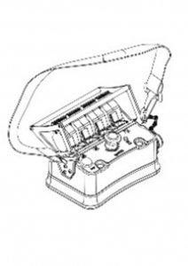 Zdalne sterowanie radiowe  4 Funkcyjny BELLY-BOX ML 270