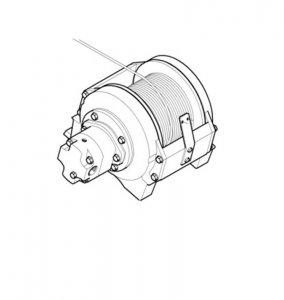 Wciagarka Hydraukiczna   dla wersji , ML 510 ML510l