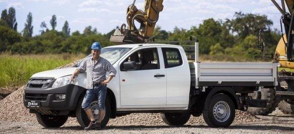Kipper ISUZU DMAX II Single Cab  Kabina pojedyncza Pojedyncze koło Rozstwa osi 3095 Wymiary wennętrzne 2500x1835mm