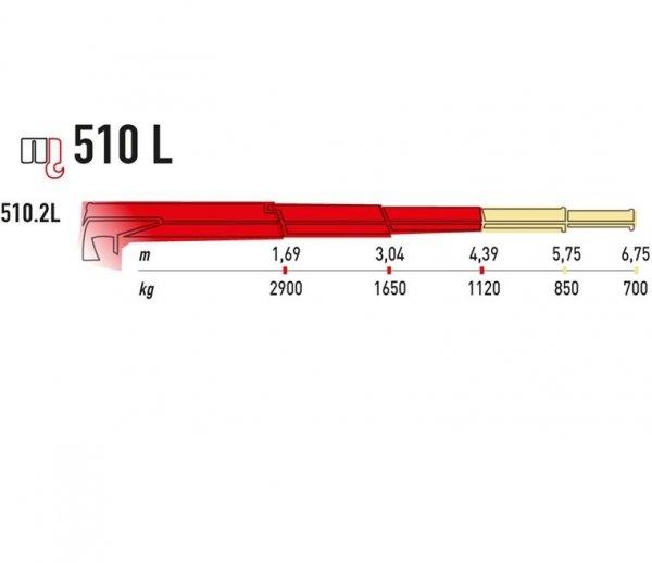 Żuraw Maxilift ML 510L.2 H LME04