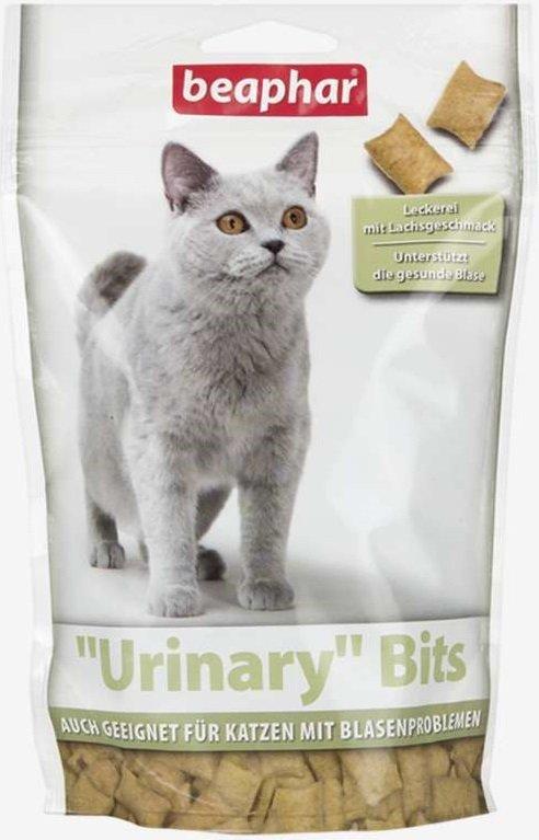 Beaphar Urinary Bits - przysmak dla kotów na pęcherz moczowy 150g