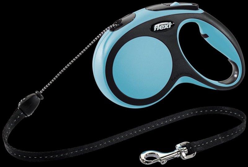 Flexi New Comfort M linka 5m - niebieska
