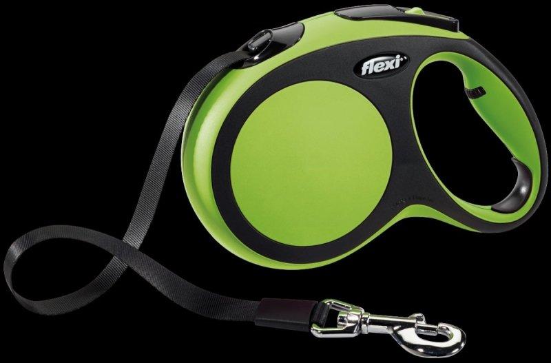 Flexi New Comfort L taśma 5m - zielona