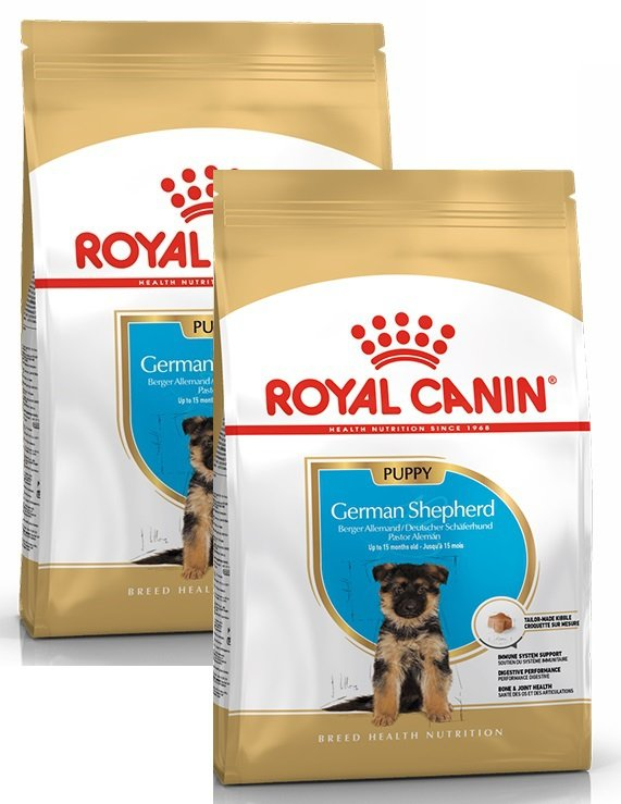 Royal Canin German Shepherd Puppy - Junior 2x12kg (24kg)