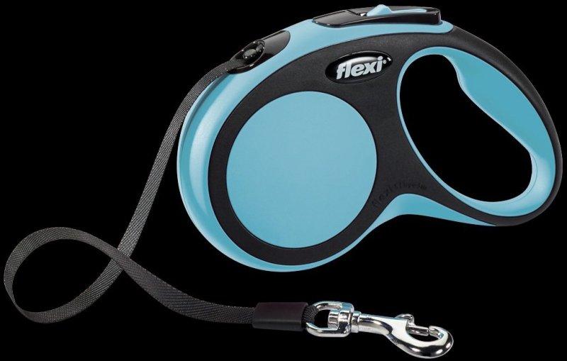 Flexi New Comfort S taśma 5m - niebieska