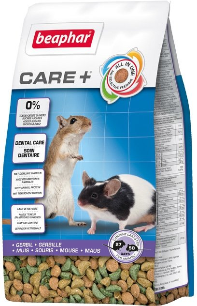 Beaphar Care+ Gerbil - karma super premium dla myszoskoczka 250g