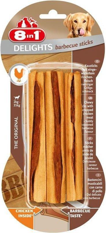 Przysmak 8in1 Delights Barbeque Sticks 10szt.