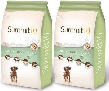 Summit10 Super Premium Energy dla dorosłych, aktywnych psów 2x15kg (30kg)
