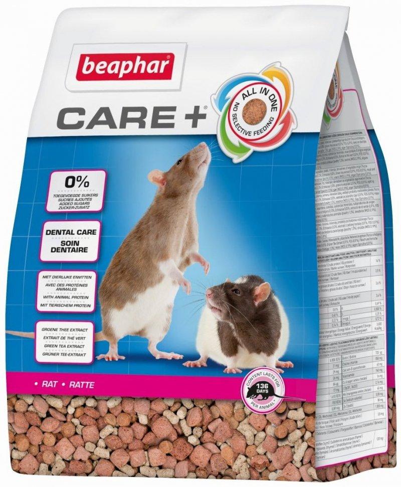 Beaphar Care+ Rat - karma super premium dla szczura 1,5kg