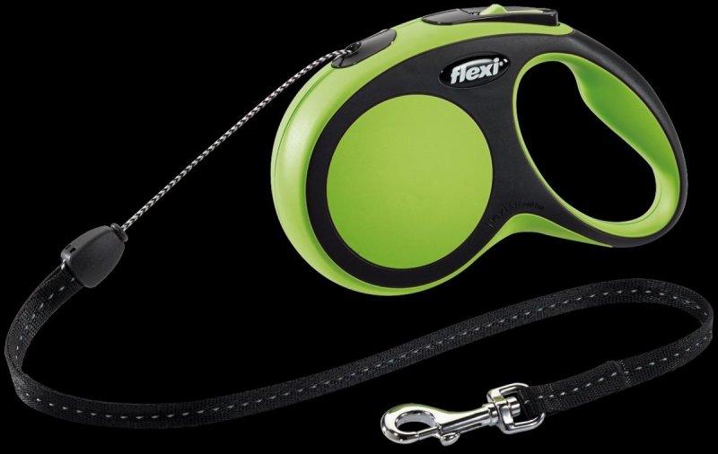 Flexi New Comfort S linka 8m - zielona