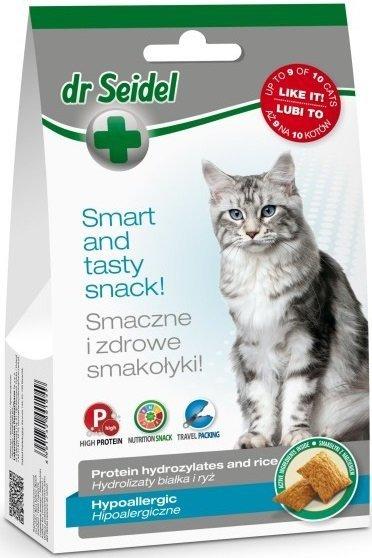 Dr Seidel Smakołyki hipoalergiczne dla kotów 50g