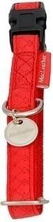 Obroża regulowana Mac Leather 20mm czerwona