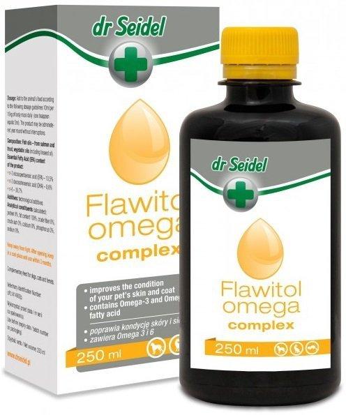 Dr Seidel Flawitol Omega 6 Complex - Zdrowa skóra i sierść 250ml