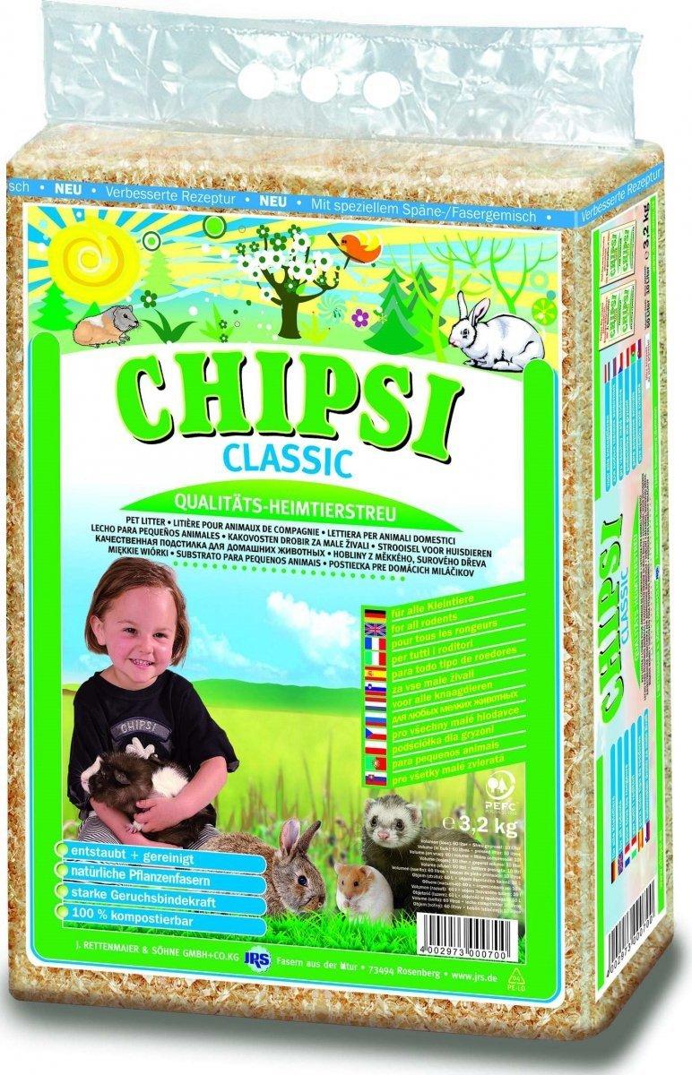 Chipsi Classic - trociny 60l