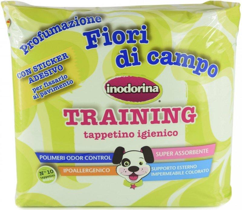 Inodorina Training Podkłady treningowe o zapachu polnych kwiatów 60x90cm - 10szt.