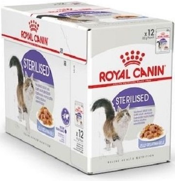 Royal Canin Sterilised w galaretce 12x85g