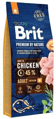 Brit Premium By Nature Medium Adult M 1kg